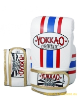 Yokkao leather Bag Mitts Thai Flag