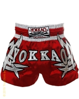 Yokkao Sudsakorn Sor. Klinmee Red Tribal muay thai shorts