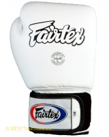 Fairtex Leder Boxhandschuhe Tight Fit (BGV1H) - 18Unzen