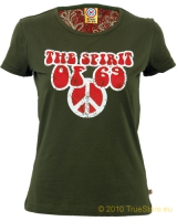 The Spirit of 69 Damen T-Shirt Peace Sign