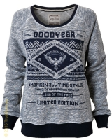 Goodyear Ladies Sweatshirt Monroe