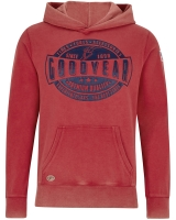 Goodyear hooded sweatshirt  Granite
