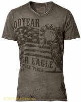 Goodyear Vintage T-Shirt Madras