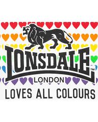 Lonsdale Damen Love All Colours T-Shirt Teresa 3