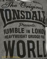Lonsdale Slimfit T-Shirt Winsford 3