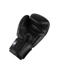 Twins Special BGVL3 leather boxing gloves - Black 3