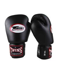 Twins Special BGVL3 leather boxing gloves - Black 2