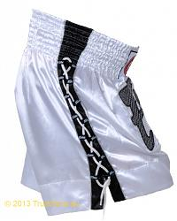 Fairtex Thai Short White Lace 2