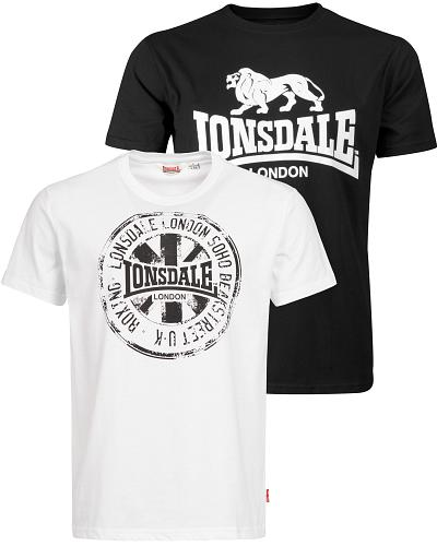 Lonsdale doublepack t-shirt Dildawn 1