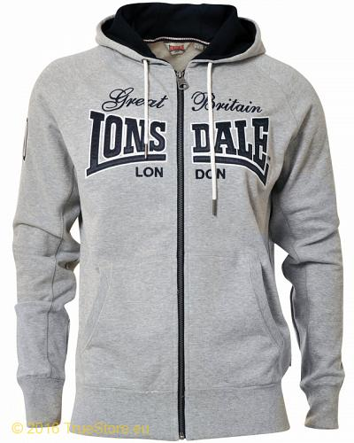 Lonsdale hooded sweatjacket Tister 1