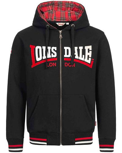 Lonsdale hooded zipper top Nateby 1