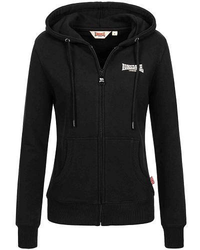 Lonsdale women hooded zipper top Calder Vale 1