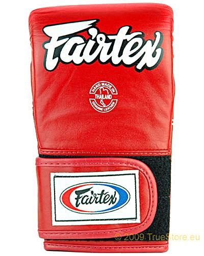 Fairtex TGT7 leather bag mitts Cross Trainer 1