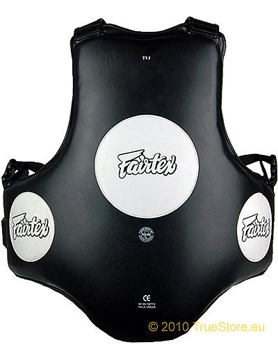 Fairtex TV1 Traiinerveste, Muay Thai Bodypanzer 1
