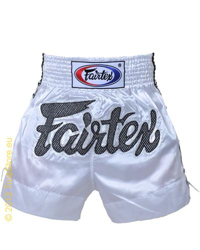 Fairtex Thai Short White Lace 1