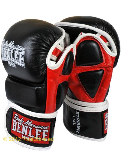 BenLee Leather MMA training gloves Striker 1