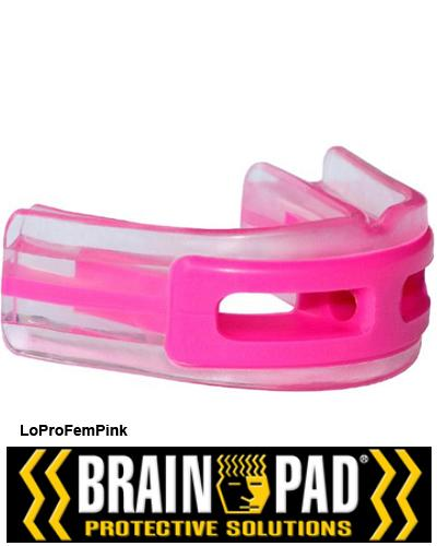 Brain-Pad ladies mouthguard LoProFem Pink 1